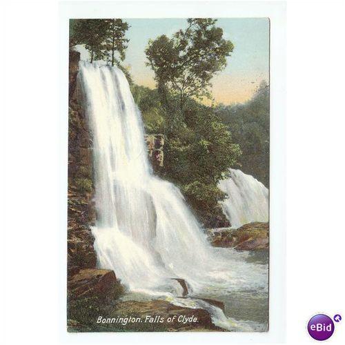 1654 Bonnington Falls Of Clyde Lanarkshire 10 Apr 1908 Bb London Series A36