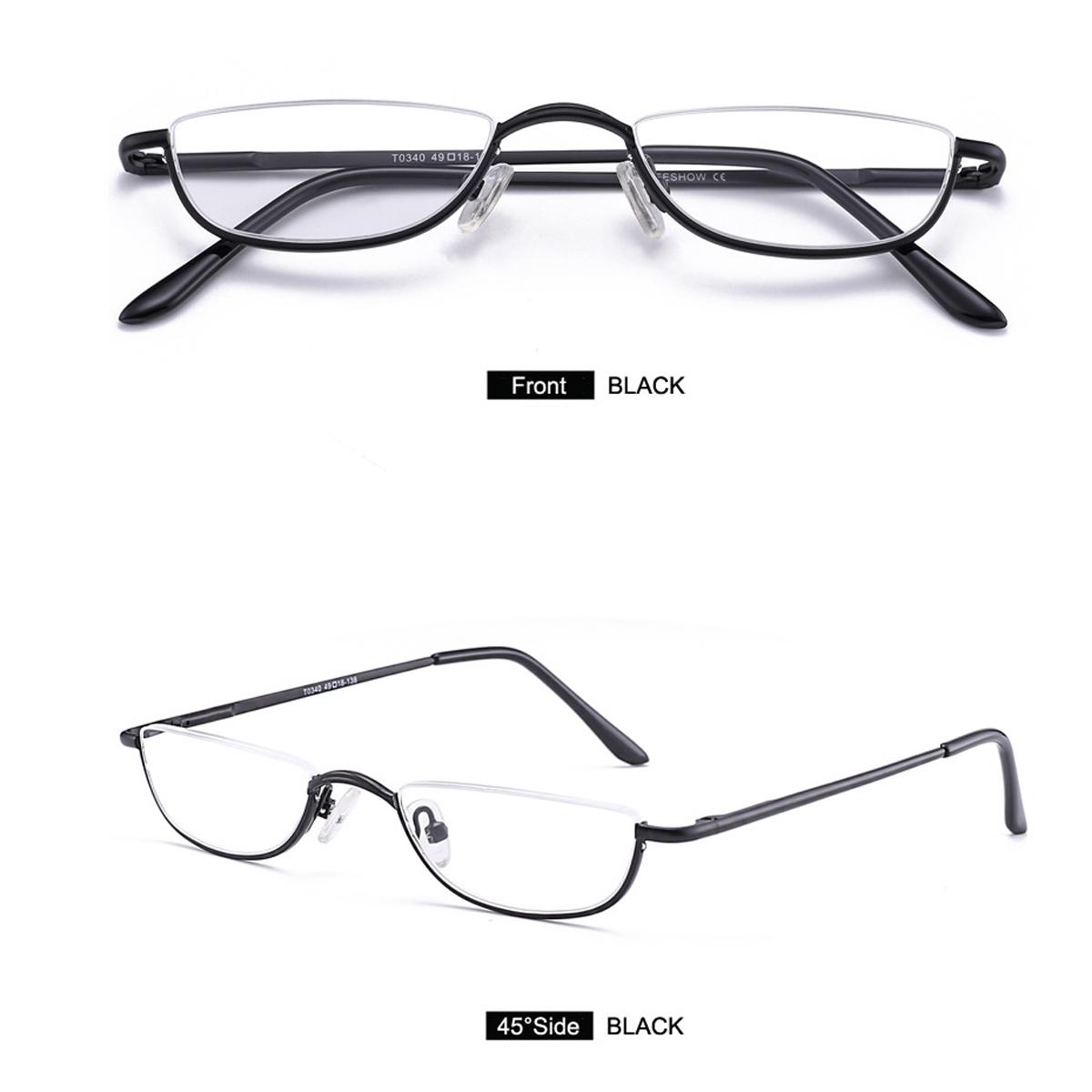 Vintage Half Moon Reading Glasses 1 0 1 5 2 0 2 5 3 0 3 5