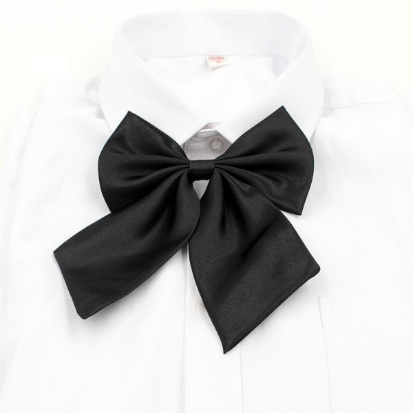 Trendy Chic Men Women Butterfly Neck Tie Shirt Accessories