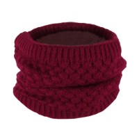 Cotton Knitted Neck Circle Scarf Unisex Men Women Shawl