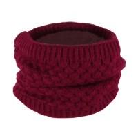 Cotton Knitted Neck Circle Scarf Unisex Men Women Shawl ...