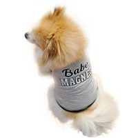 UK Small Dog Summer Clothes Cat Vest T-Shirt Apparel Doggy ...