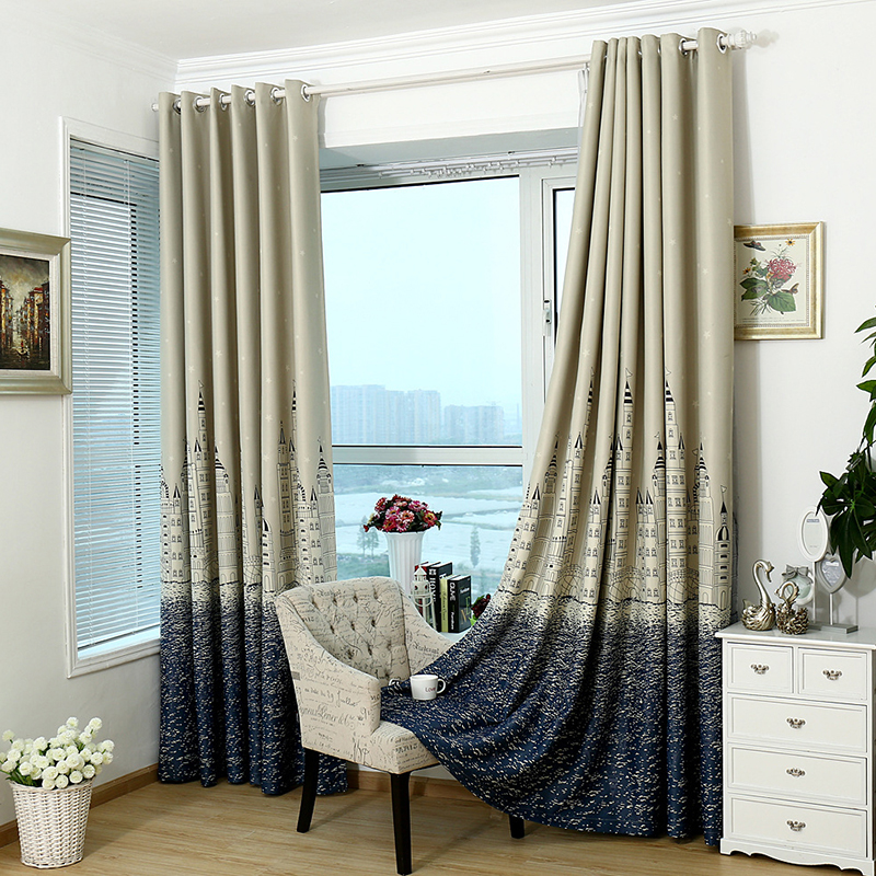 1x Castle Shade ClothTulle Drape Curtain Fabric Bedroom