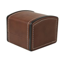 Unisex Single Wood/Leather Watch Box Case Storage Watch ...