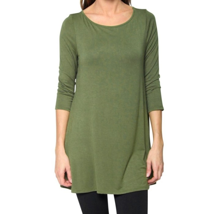 Fashion Womens Casual Top Blouse Boat Neck 3/4 Sleeve