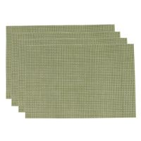 PVC Insulation Pad Placemat Green Dining Table Kitchen ...