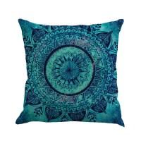 New Bohemian Pattern Throw Pillow Cover Car Cushion Cover ...