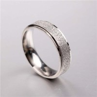 Men Womens Unisex Jane Love Silver Couple Rings Lovers ...