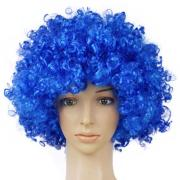 halloween disco clown curly afro
