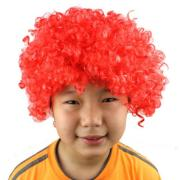 halloween afro clown curly circus