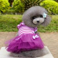 Cute Puppy Pet Dog Tutu Dress Lace Skirt Cat Princess ...