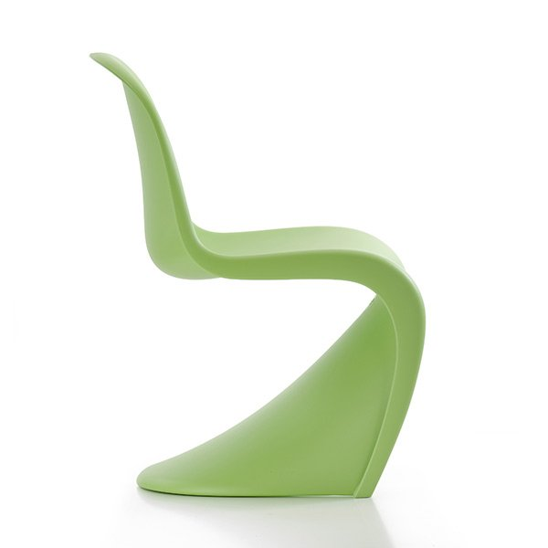 Kinderstuhl Panton Junior Dark Lime Von Vitra