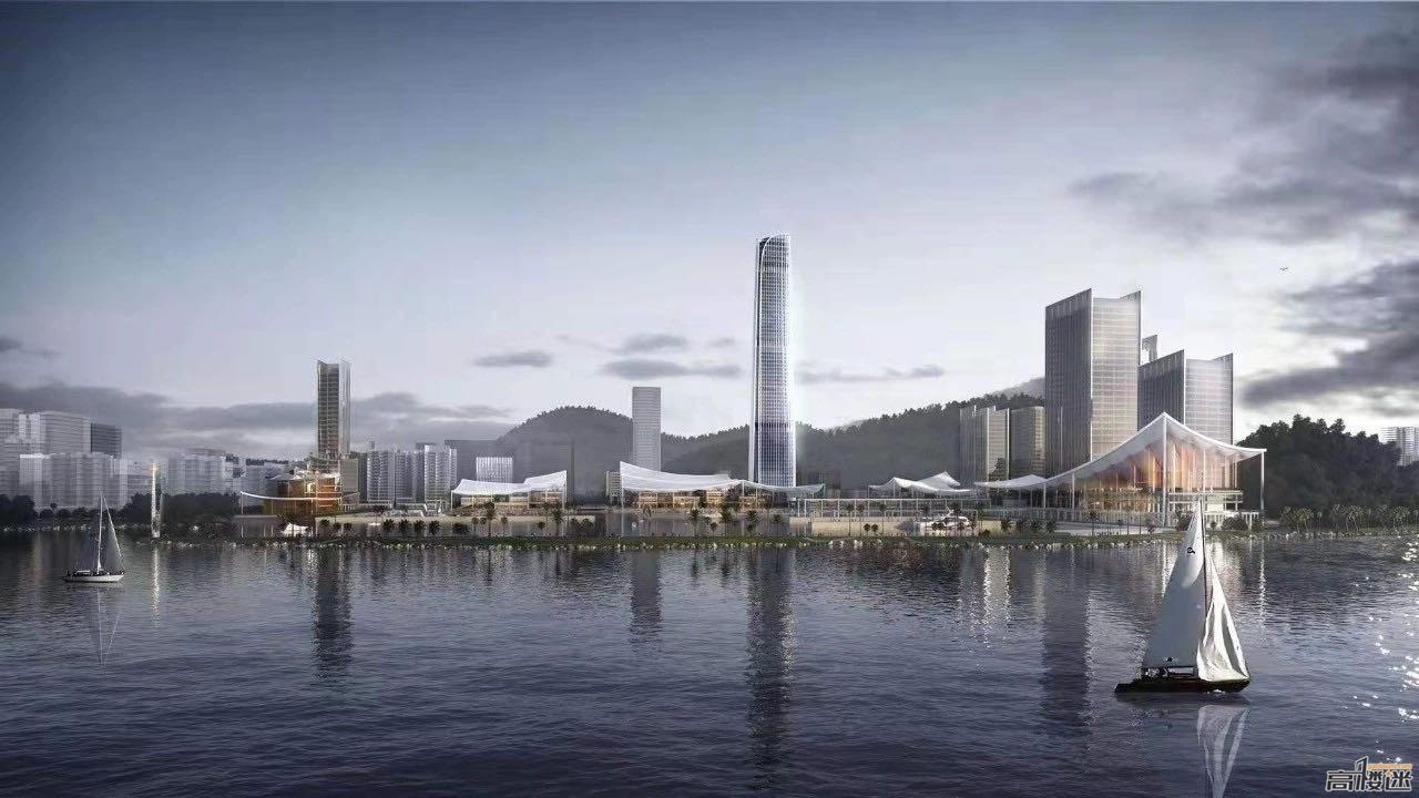 建設紀實/九洲中心 320米65F/153米 九洲港碼頭改造(在建/更新至20.12.8) - 珠海 - 高樓迷