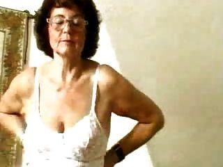 ugly skinny granny