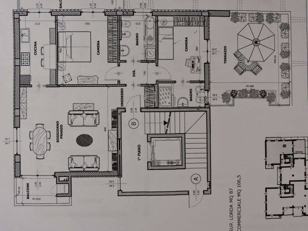Vendita Appartamento Domodossola Trilocale in via Papa