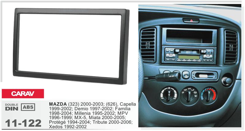 New Car Stereo Wire Wiring Harness Plugs For Mazda Tribute Mpv Miata