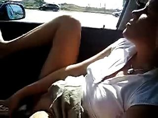 wife flashing strangers in window