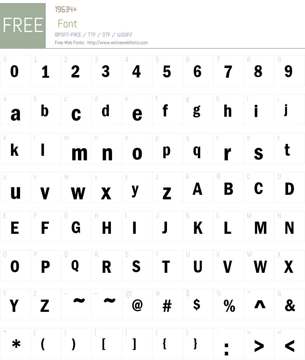 Franklin Gothic Demi Cond V1 2.00 Fonts Free Download