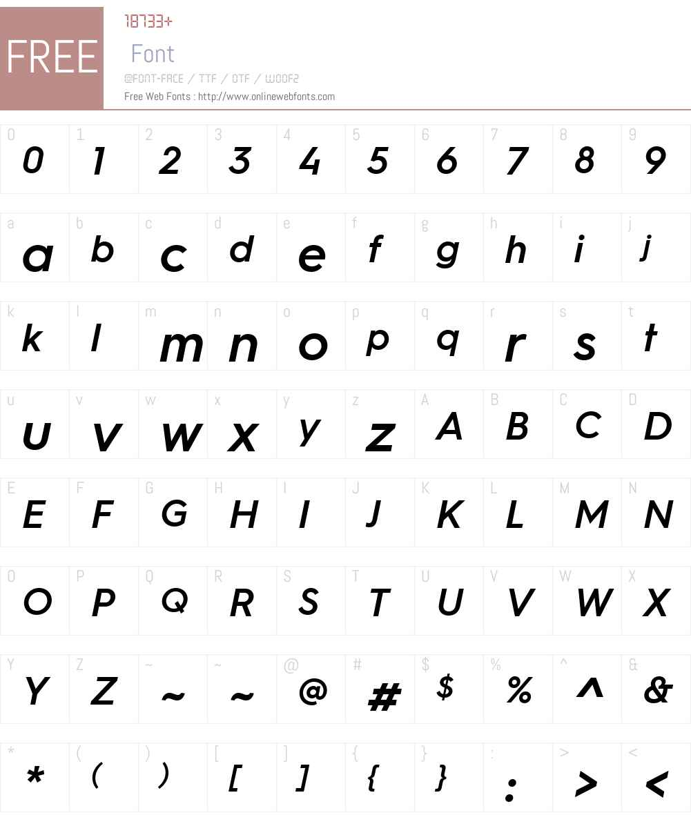 Hurme Geometric Sans 3 W03SBObl 1.10 Fonts Free Download