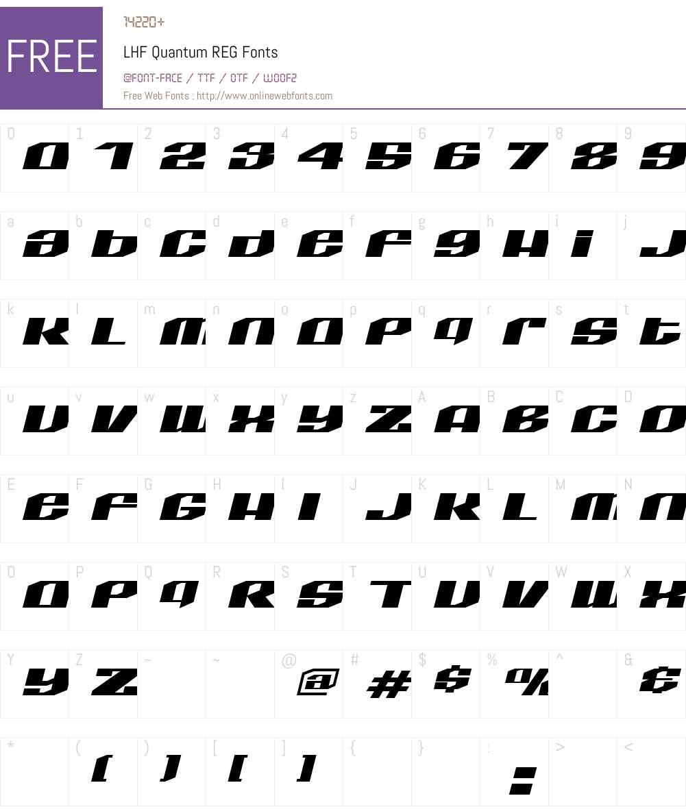 Download LHF Quantum REG (1) www.letterheadfonts.com Fonts Free ...