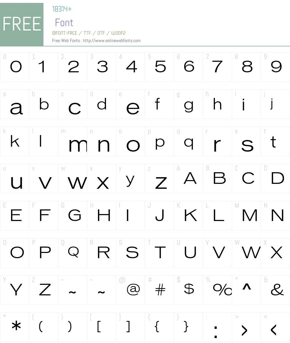 Vonnes-ThinExtended 001.000 Fonts Free Download