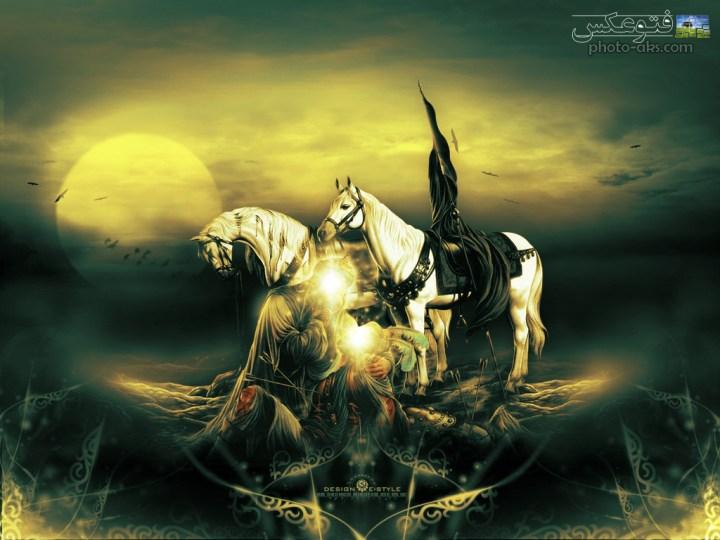 عکس امام حسین و محرم