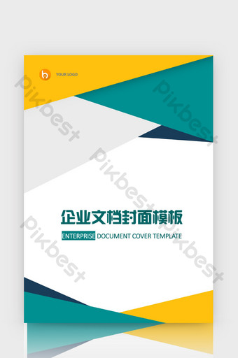 Cover Word Keren : cover, keren, Stylish, Watercolor, Corporate, Document, Cover, Template, Download, Pikbest