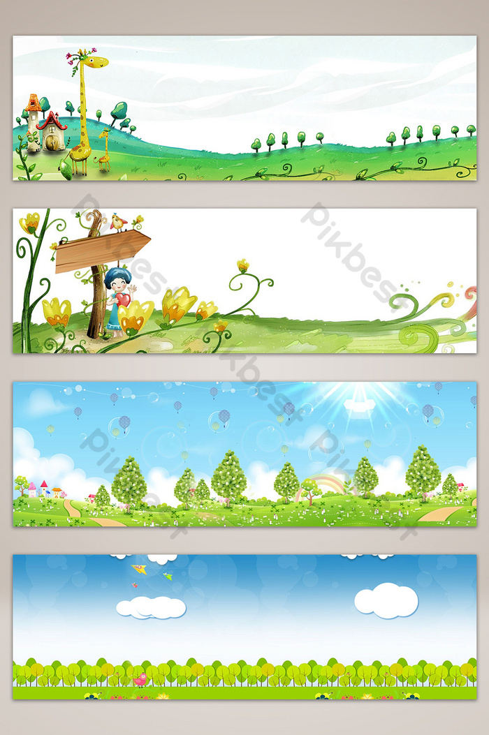 Baground Anak Sekolah : baground, sekolah, Children, Cartoon, Autumn, School, Poster, Banner, Background, Backgrounds, Download, Pikbest