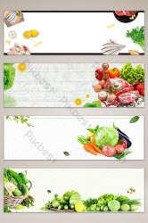 banner background food poster vegetable sayur sayuran backgrounds psd pikbest latar belakang spanduk template templates