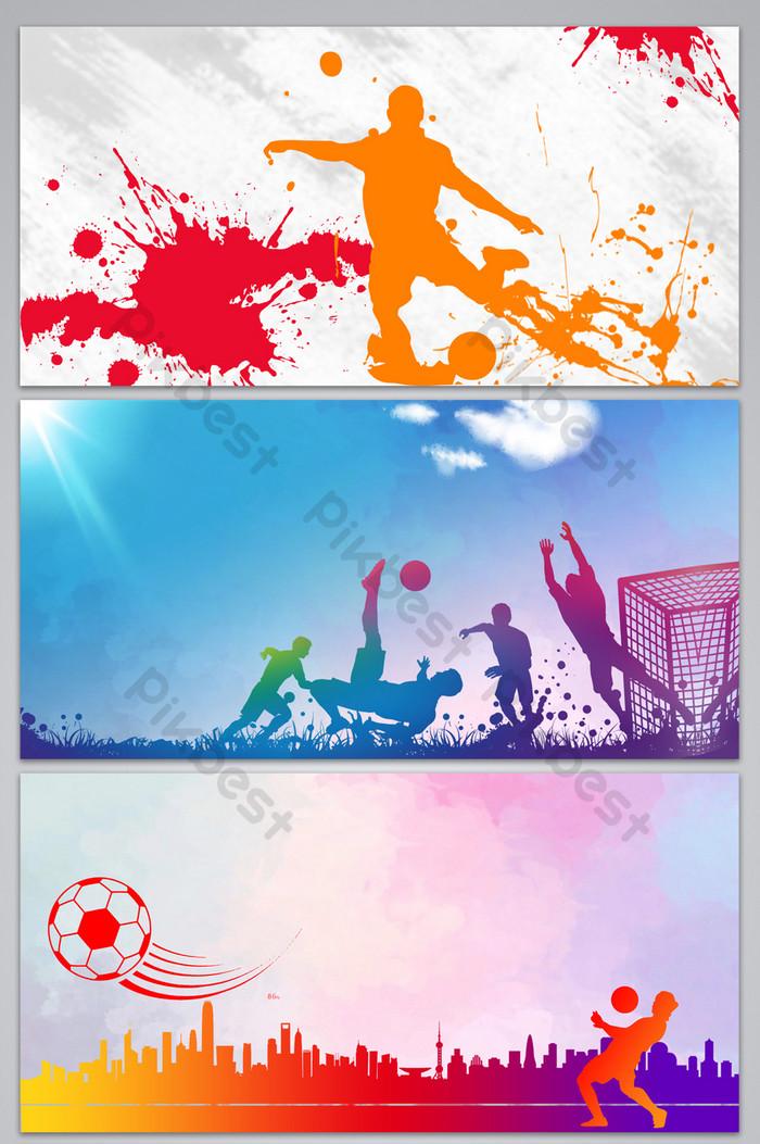 Background Sepak Bola : background, sepak, Football, Poster, Display, Board, Background, Backgrounds, Download, Pikbest
