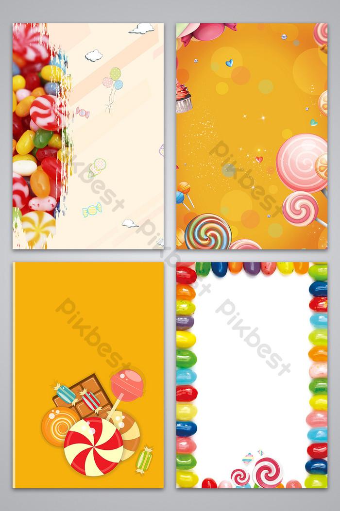 年貨節糖果廣告背景圖  PSD 背景素材免費下載 - Pikbest