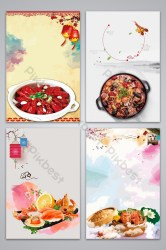 poster food creative background backgrounds template pikbest ai