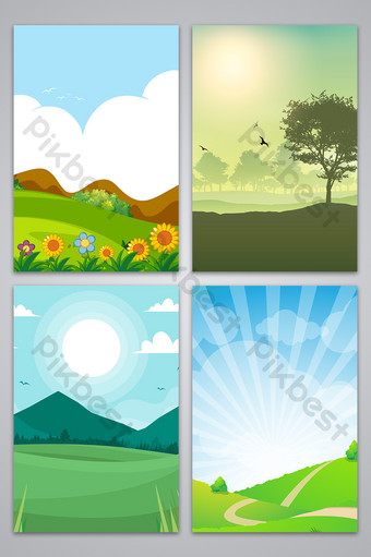 Background Animasi Hutan : background, animasi, hutan, Cartoon, Drawing, Beautiful, Forest, Department, Poster, Advertising, Design, Background, Image, Backgrounds, Download, Pikbest