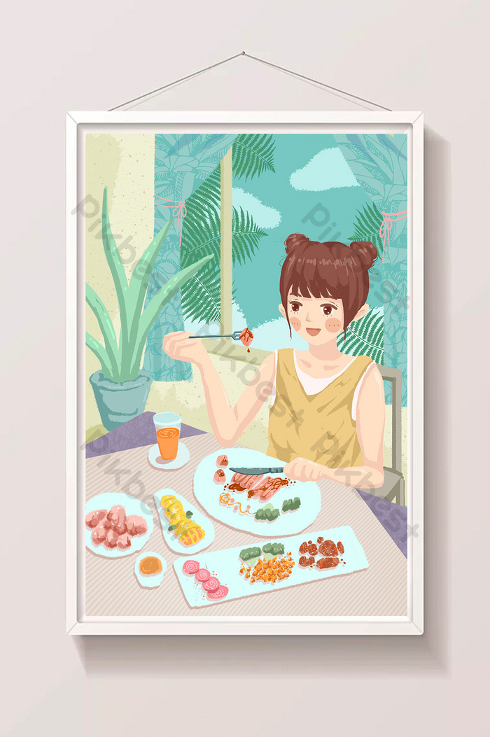 Gambar Kartun Sedang Makan : gambar, kartun, sedang, makan, Gambar, Kartun, Sedang, Makan, Siang