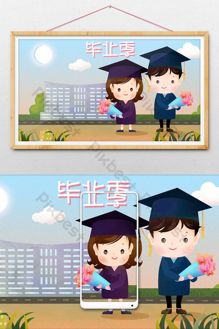 Gambar Ilustrasi Sekolah : gambar, ilustrasi, sekolah, Ilustrasi, Pemandangan, Gambar, Sekolah, Seragam, Akademik, Musim, Kelulusan, Segar, Indah, Percuma, Turun, Pikbest