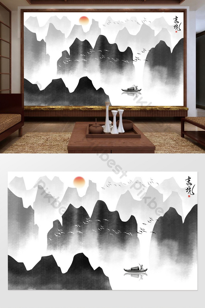 Lukisan Pemandangan Hitam Putih : lukisan, pemandangan, hitam, putih, Lukisan, Pemandangan, Hitam, Putih, Cikimm.com