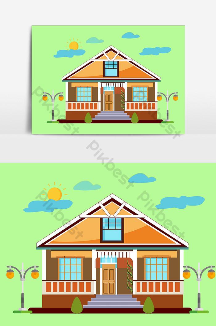 Gambar Animasi Rumah Sederhana : gambar, animasi, rumah, sederhana, Gambar, Rumah, Kartun