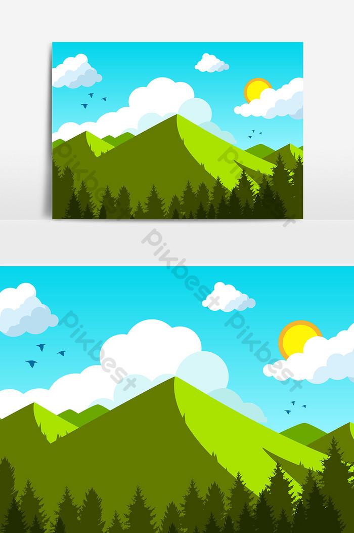 Gambar Pegunungan Kartun : gambar, pegunungan, kartun, Paling, Bagus, Gambar, Gunung, Kartun, Sugriwa