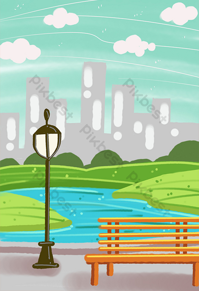 Background Animasi Kota : background, animasi, Trend, Terbaru, Background, Taman, Animasi, Amanda, Ayala