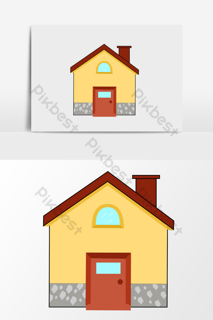 Gambar Animasi Rumah Sederhana : gambar, animasi, rumah, sederhana, Gambar, Rumah, Sederhana, Kartun, Gratis