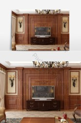 Medieval European style living room background wall Decors & 3D Models MAX Free Download Pikbest