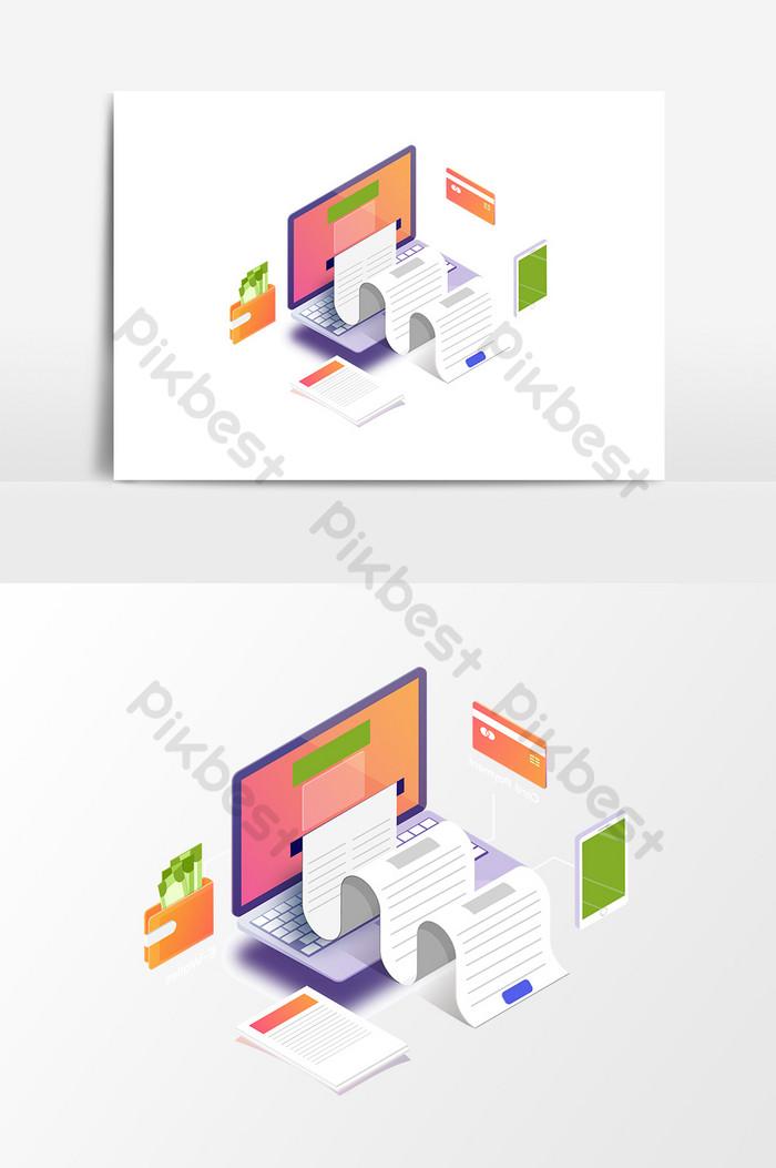 卡通電腦印刷設計元素| AI 元素素材免費下載 - Pikbest