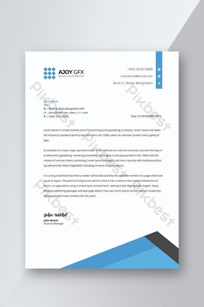 Download Contoh Kop Surat Perusahaan : download, contoh, surat, perusahaan, Download, Template, Surat, Perusahaan, Gratis, Contoh
