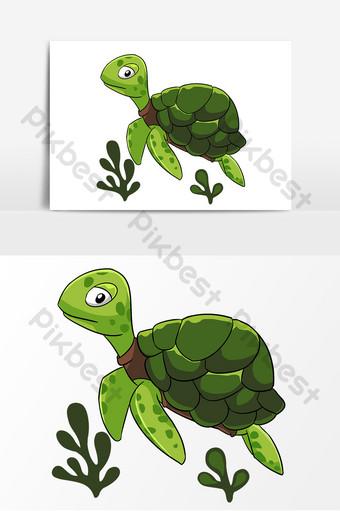 Gambar Kura Kura Animasi : gambar, animasi, Gambar, Haiwan, Akuatik, Template, Vektor, Download, Pikbest