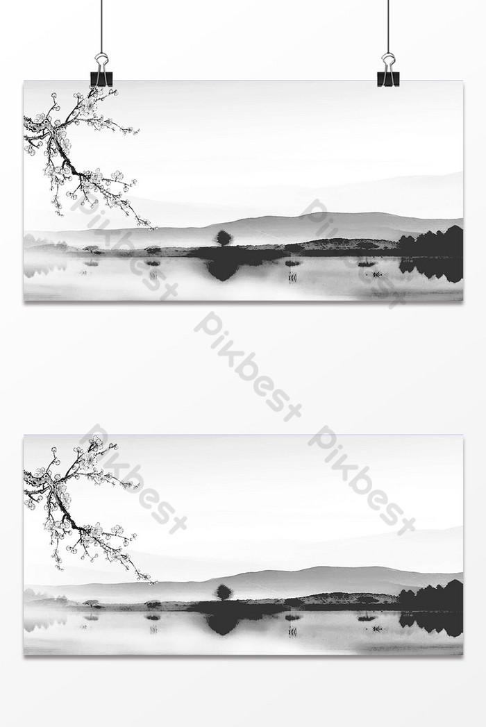 Lukisan Pemandangan Hitam Putih : lukisan, pemandangan, hitam, putih, Lukisan, Pemandangan, Hitam, Putih, Tinta, Latar, Belakang, Sederhana, Templat, Unduhan, Gratis, Pikbest