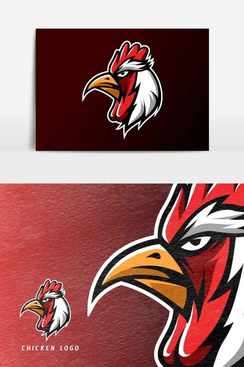 Logo Ayam Vektor : vektor, Chicken, Templates, Vector, Download, Pikbest