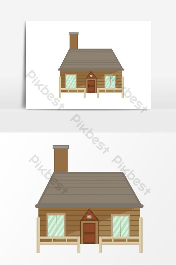 Rumah, Kartun, Atap gambar png