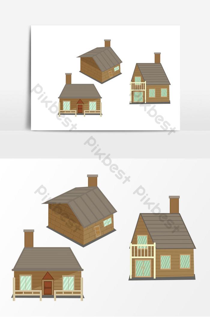Gambar Atap Rumah Kartun : gambar, rumah, kartun, Gambar, Kartun, Rumah, Kecil, Digambar, Tangan, Elemen, Grafis, Templat, Unduhan, Gratis, Pikbest
