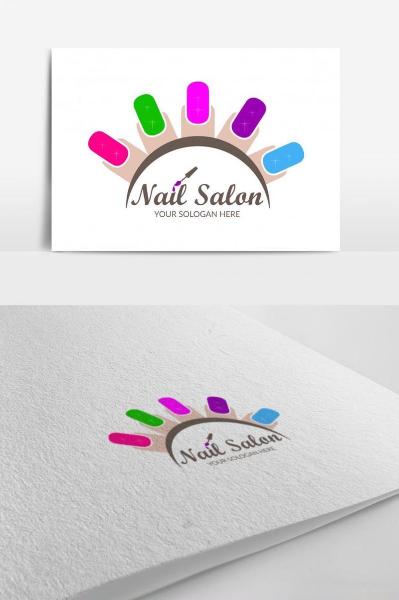 nail salon templates free psd png