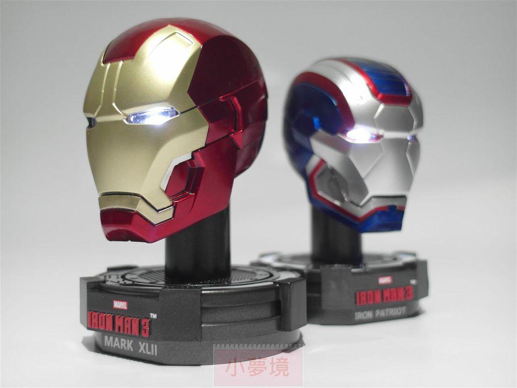 【King Arts 系列】鋼鐵人 1 5 Deluxe Helmet 豪華頭盔第一彈 開箱